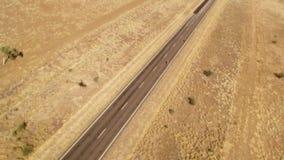 Antennskott för lång väg och land arkivfilmer