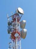 antenntelekommunikation royaltyfria bilder