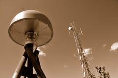 anteny gps pilota wierza Zdjęcia Royalty Free