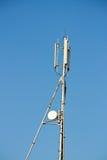 anteny komórki płaski nowożytny parabola Obrazy Royalty Free