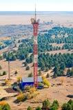 Anteny komórkowa stacja bazowa Zdjęcia Stock