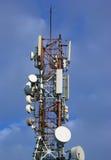 anteny komunikacja Fotografia Royalty Free