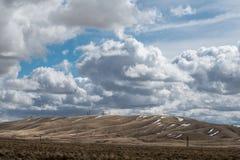 Anteny na wzgórzu Zdjęcie Royalty Free