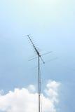 anteny niebieskie niebo Obrazy Stock