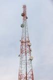Anteny niebieskie niebo Zdjęcia Stock