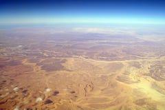 anteny pustynny montain widok fotografia stock