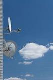 anteny satelita Fotografia Royalty Free