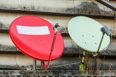 Anteny satelitarne Fotografia Stock