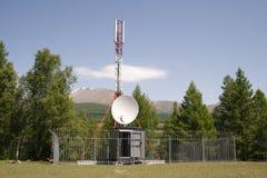 anteny telefon komórkowy wierza Fotografia Stock