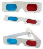 anteojos 3D Imagenes de archivo