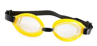 Anteojos de la natación Fotos de archivo libres de regalías