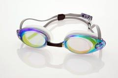 Anteojos de la natación imagenes de archivo