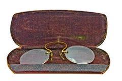 Anteojos de la vendimia Fotos de archivo libres de regalías