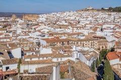 Antequera άσπρο χωριό, Μάλαγα, Ισπανία Στοκ φωτογραφία με δικαίωμα ελεύθερης χρήσης