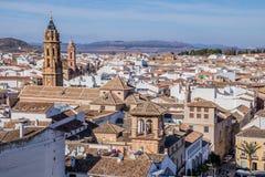 Antequera άσπρο χωριό, Μάλαγα, Ισπανία Στοκ εικόνες με δικαίωμα ελεύθερης χρήσης