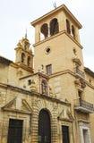 Antequera Δημαρχείο και εκκλησία των θεραπειών, επαρχία της Μάλαγας, Ισπανία Στοκ Φωτογραφίες
