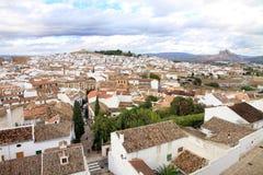Antequera επαρχία Ανδαλουσία Ισπανία της πόλης Μάλαγας Στοκ εικόνα με δικαίωμα ελεύθερης χρήσης