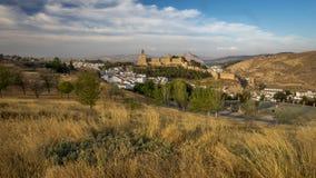Antequera κάστρο, Ισπανία Στοκ εικόνες με δικαίωμα ελεύθερης χρήσης