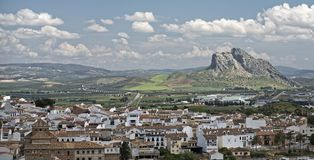Antequera, Λα Peña de Los Enamorados Στοκ φωτογραφία με δικαίωμα ελεύθερης χρήσης