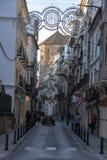 Antequera οδοί, Μάλαγα, Ισπανία Στοκ Εικόνες