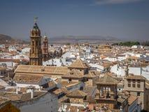 Antequera πόλη, Ισπανία Στοκ εικόνες με δικαίωμα ελεύθερης χρήσης