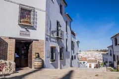 Antequera χωριό, Μάλαγα, Ισπανία Στοκ φωτογραφία με δικαίωμα ελεύθερης χρήσης
