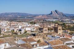 Antequera χωριό, Μάλαγα, Ισπανία Στοκ Εικόνες