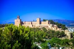 Antequera - Alcazaba Στοκ εικόνες με δικαίωμα ελεύθερης χρήσης
