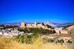 Antequera - Alcazaba Στοκ Φωτογραφία