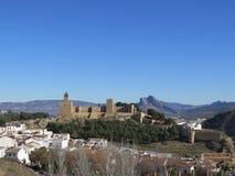 Antequera Alcazaba Castle Στοκ Εικόνες