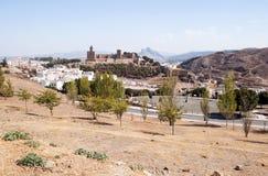 Antequera Castle Στοκ Φωτογραφίες
