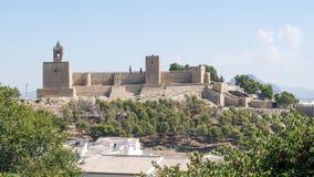 Antequera Castle Στοκ φωτογραφία με δικαίωμα ελεύθερης χρήσης