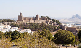 Antequera Castle Royalty Free Stock Images