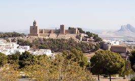 Antequera Castle Στοκ εικόνες με δικαίωμα ελεύθερης χρήσης
