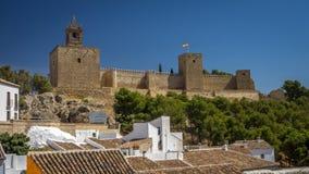 Antequera Castle, Spain Stock Image