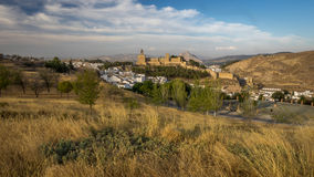Antequera Castle, Spain Royalty Free Stock Images