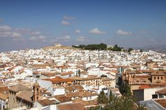 Antequera, Spain. White town in the province of Andalusia royalty free stock images