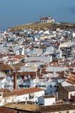 Antequera-Stadt stockfotografie