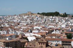 Antequera. The town of antequera in andalucia, spain Royalty Free Stock Photography