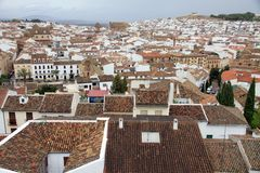 Antequera town Andalusia, Spain Stock Image