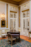 Anternim Room (Sala do Lanternim) in the Queluz Palace, Portugal. Stock Photos