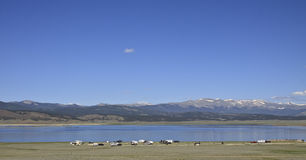Antero Reservoir Campground Stock Image