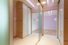 Anteroom with big mirror Stock Photo