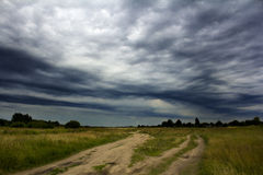 Antes da tempestade Imagem de Stock Royalty Free