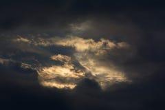 Antes da tempestade Fotos de Stock Royalty Free