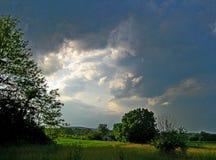 Antes da tempestade Imagens de Stock Royalty Free