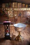 Antes de la ceremonia del bautizo. Fotos de archivo libres de regalías