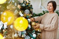 Antes de la Navidad Foto de archivo