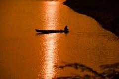 Antes de la puesta del sol Imagen de archivo