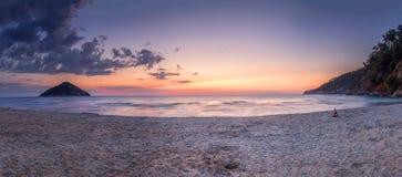 Antes de la salida del sol Foto de archivo libre de regalías